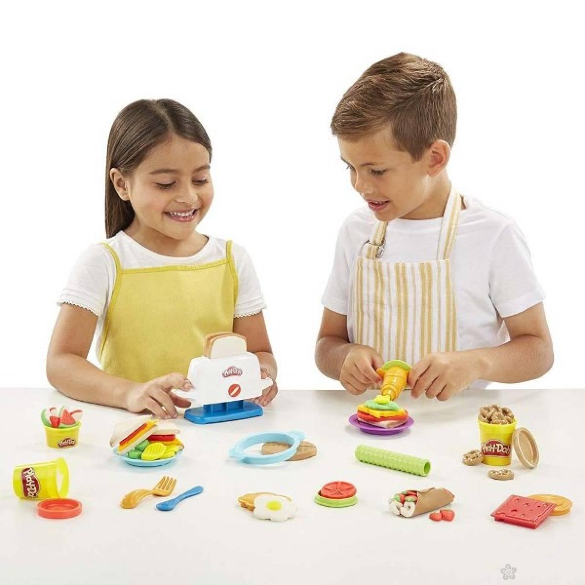 Set za modelovanje Play Doh toaster creations  E0039