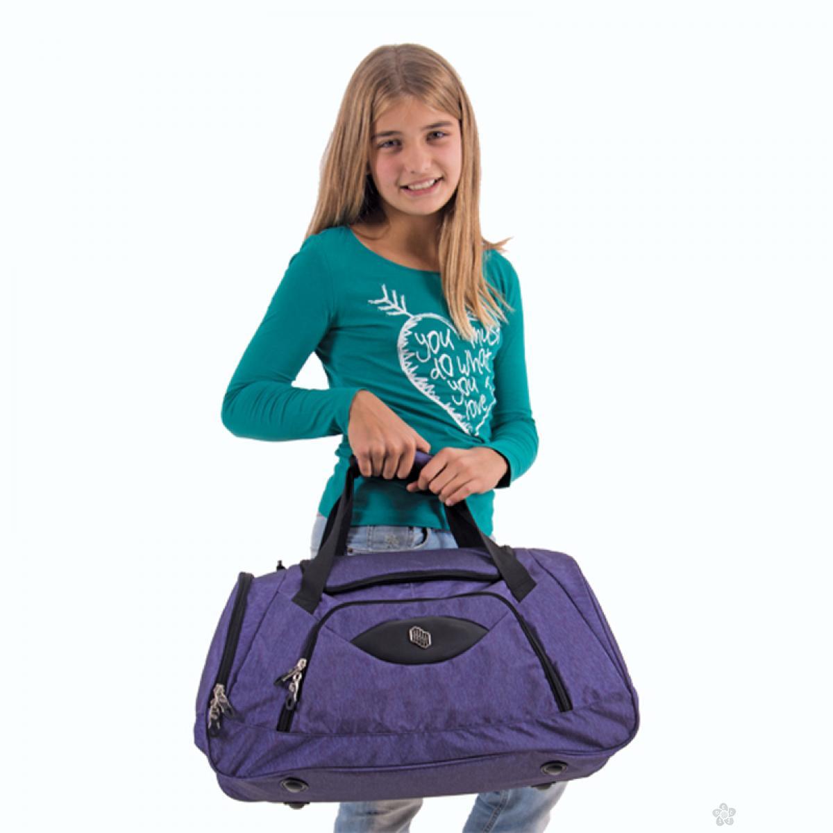 Sportska torba Pulse Scate Ljubičasta