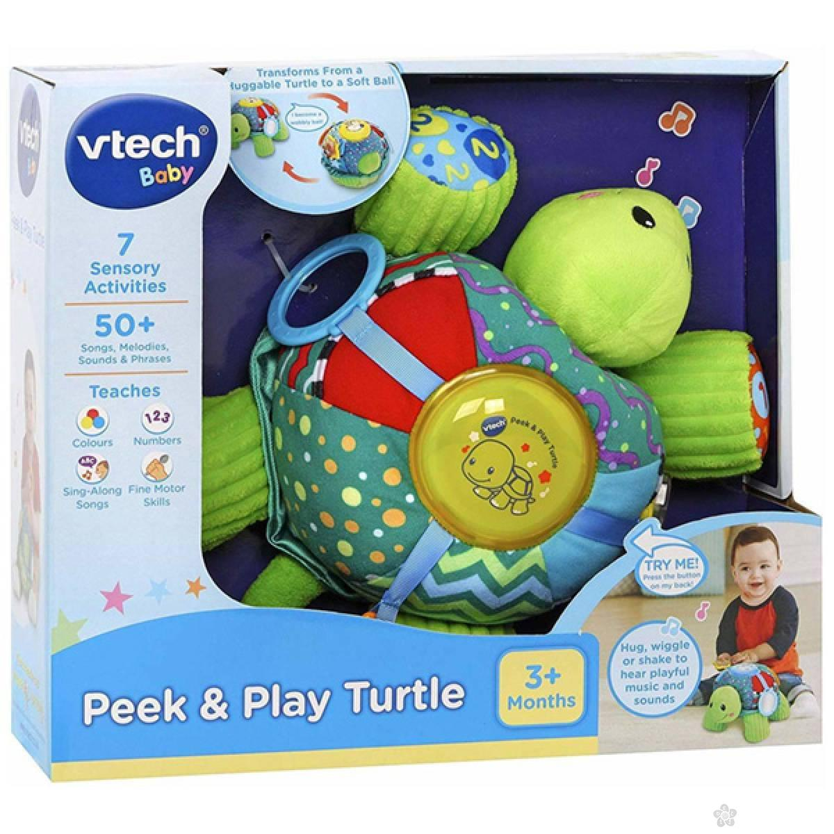Taktilna interaktivna kornjača 20966