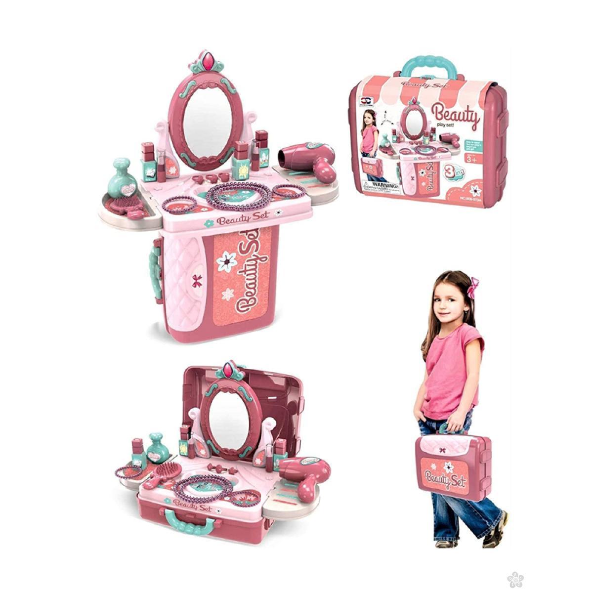 Toaletni sto u koferu 785106