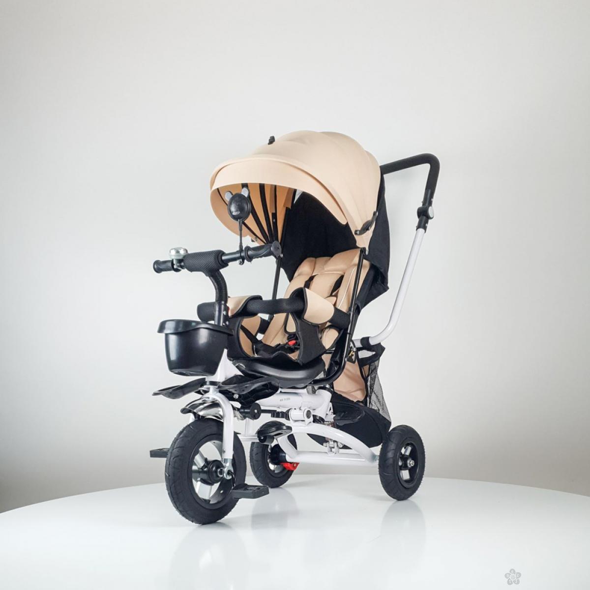 Tricikl Playtime,  model 413  RELAX Bež