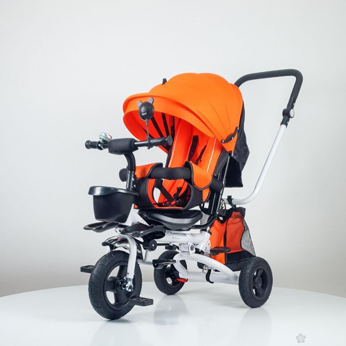 Tricikl Playtime,  model 413  RELAX narandžasta