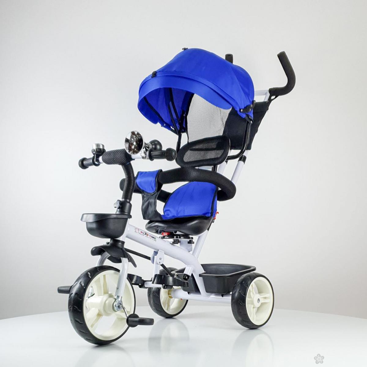 Tricikl Playtime model 439 PLAVA