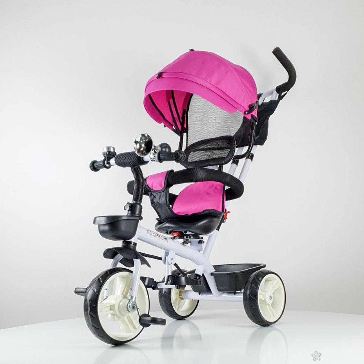Tricikl Playtime model 439 ROZE