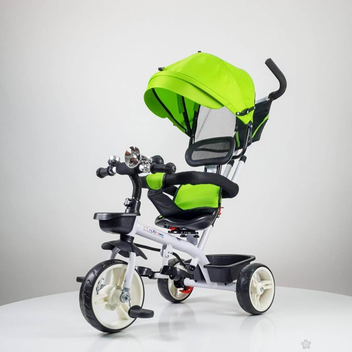 Tricikl Playtime model 439 ZELENA