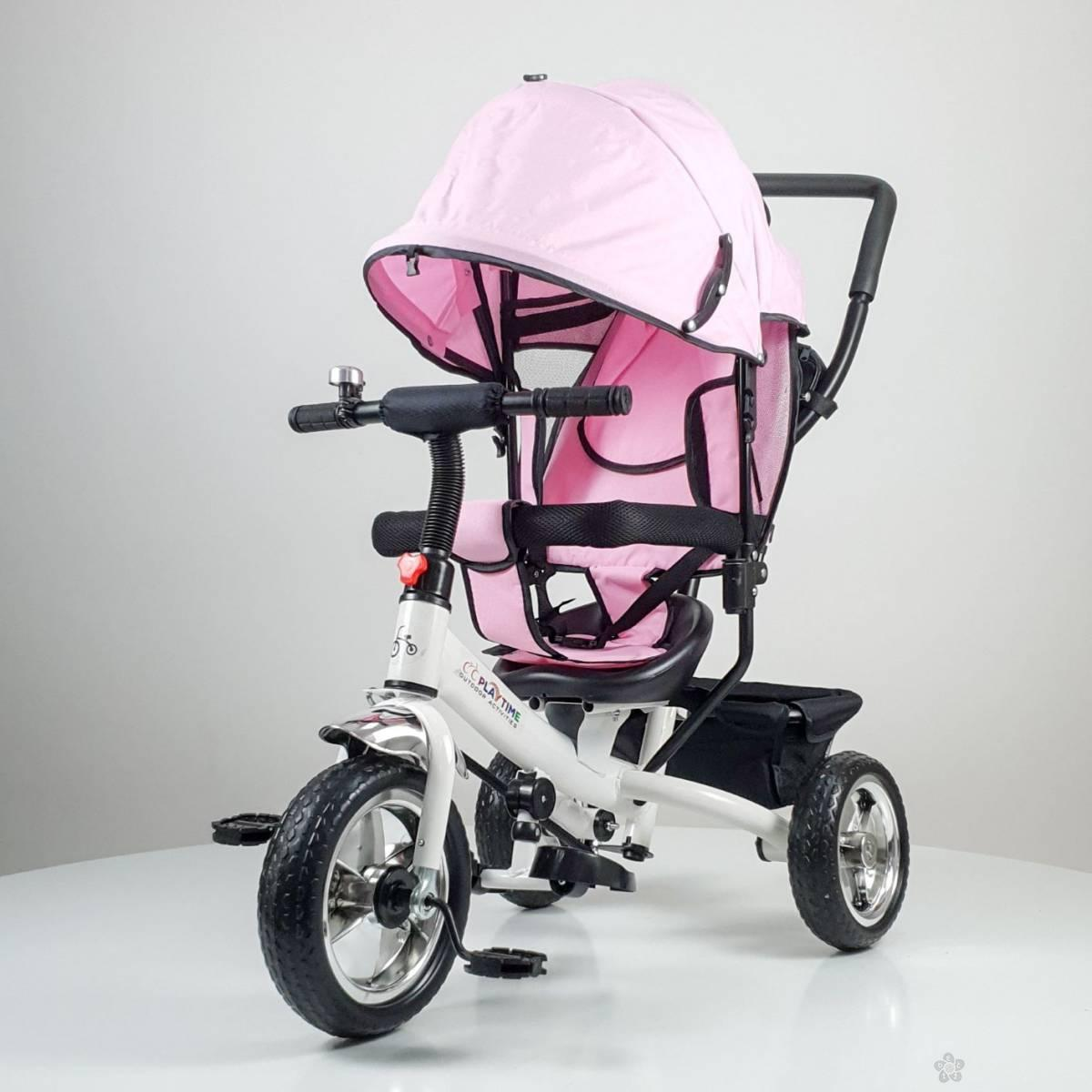 Tricikl Playtime,  model 411 Simple ROZE