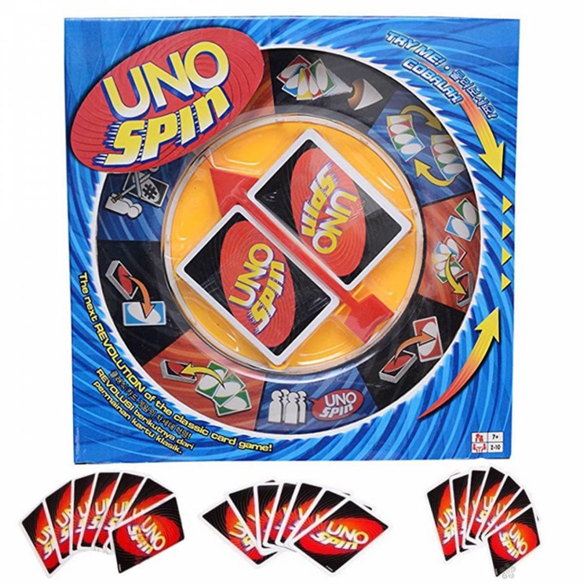 UNO Spin društvena igra