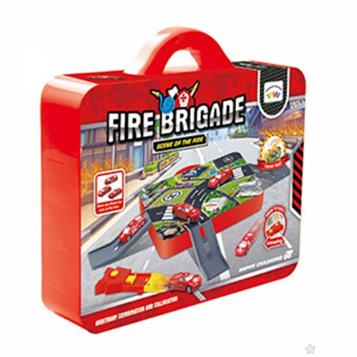 Vatrogasni Poligon Set U Koferu 0268449