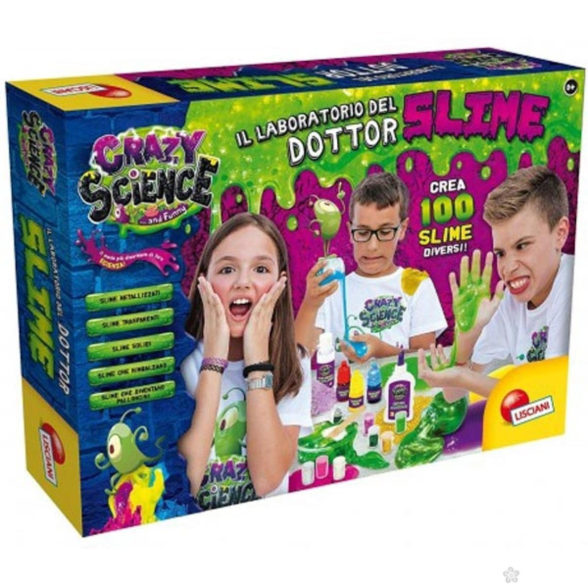 Velika Laboratorija Crazy Science Slime
