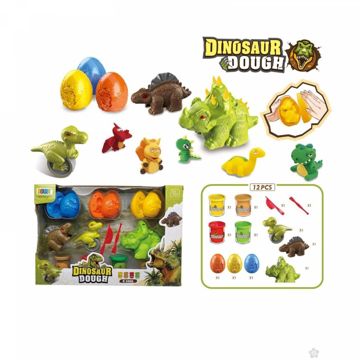 Set plastelin dinosaurusi 685089