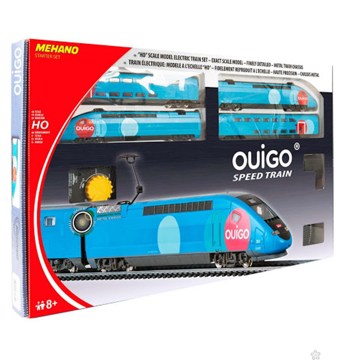 Voz Mehano garnutura TGV Ouigo T114