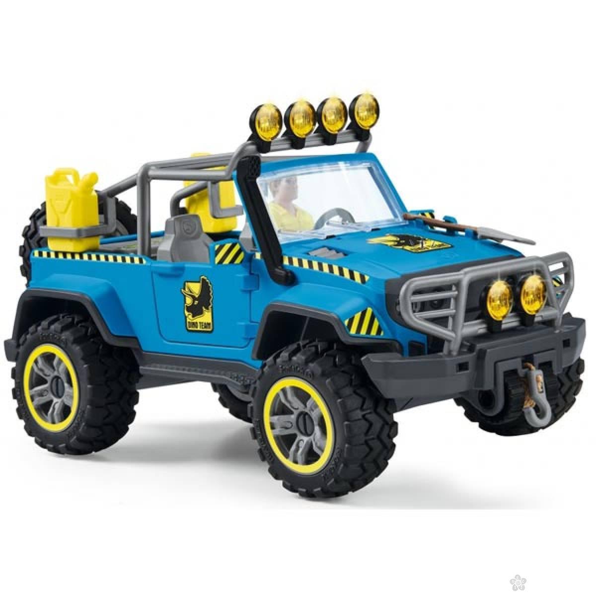 Vozilo za obilazak dinosaurusa